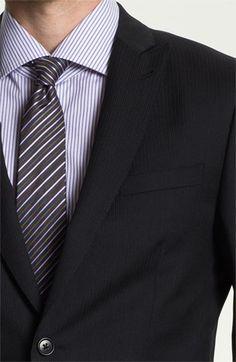 John Varvatos Star USA 'Berkley' Trim Fit Stripe Suit | Nordstrom