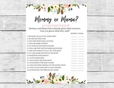 Baby Bison, Lesbian Moms, Baby Shower Party Games, Photo Center, Fun Cooking, Text Color, Mom And Baby, Anniversary Cards