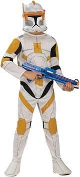 ToyHo.com - Star Wars Animated Clonetrooper Commander Cody Child Costume