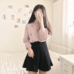 Korean Fashion|Date Outfit @oliwiasierotnik