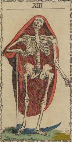Ancient Tarot of Lombardy - XIII