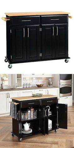 kitchen islands kitchen carts 115753 wood utility cart on wheels rh pinterest com