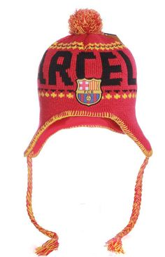 new FC Barcelona beanie Peruvian winter cap hat messi 10 Suarez jersey  soccer. FC Barcelona Barca Gorro ... 5ecbbf81c72