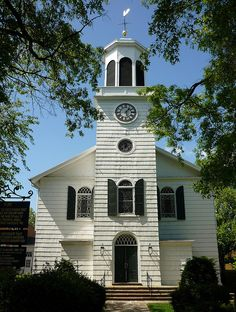 St George's Episcopal Church, 1735, Hempstead, Long Island, New York