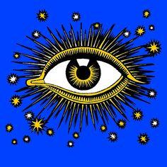 Vintage All Seeing Eye