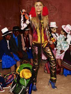 Testino. Cusco. Vogue