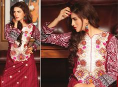 Exclusive Eid ul Azha Wear Kurti Collection 2014 for Women by Shariq Textiles