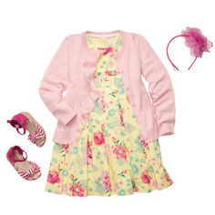 A classic girly-girl look for Easter and spring. #oshkoshbgosh