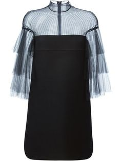 Shop Valentino tulle sleeve dress in D'Aniello from the world's best independent boutiques at farfetch.com. Shop 300 boutiques at one address.
