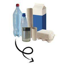 Met de Re-Cycle-Me knutselpakketten maak je gave dingen van recycled materiaal. Gebruik je tomatenpureeblikje, melkpak of eierdoos en maak er de tofste spelletjes van. Cycling, Products, Seeds, Biking, Bicycling, Gadget, Ride A Bike