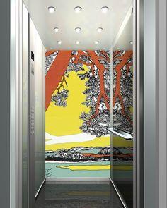 Kone & Marimekko elevators