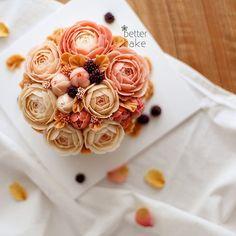 . Done by me / BETTER CAKE . Any inquiries about my class, plz contact as follows bettercakes@naver.com . www.better-cakes.com #buttercream#cake#korea#baking#koreanbuttercream#bettercake#버터크림케이크#베러케익#yummy#flower#꽃#sweet#플라워케이크클래스#foodporn#birthday#wedding#디저트#foodie#dessert#버터크림플라워케익#follow#food#koreancake#beautiful#flowerstagram#instacake#like#꽃스타그램#koreastyle#instafood#
