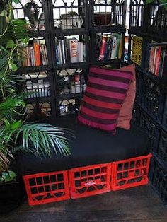Reading nook for high school students? Might be able to pull it off!!