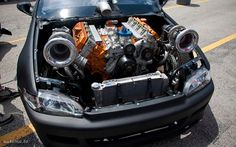 Twin Turbo 6 0 Stroke Swed Honda Civic