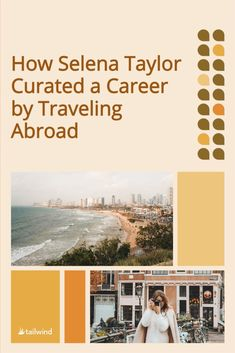 Does building your career around something you love sound too good to be true? It wasn't for Selena Taylor! Learn how she did it and how Pinterest marketing with Tailwind made a difference in her career. Love Sound, Selena And Taylor, Travel Abroad, Pinterest Marketing, Career, Tools, Building, Blog, I Feel Bored