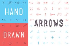 Need quick arrows with a human touch? Check out our Hand Drawn Arrows Font - http://crtv.mk/gzfW