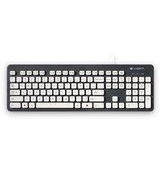 Logitech waterproof keyboard- the keyboard that loves a wash.