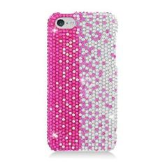 IPHONE LITE/5C CS Diamond COVER Pink,Silver,Vertial 322. New images and arrivals can be found at www.metrophones.co.
