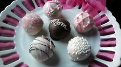 Cake balls for mother's day