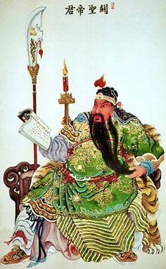Buddha Painting, Buddha Art, Chinese Buddha, Chinese Art, Taoism, Buddhism, Fantasy Illustration, Character Illustration, Guan Yu