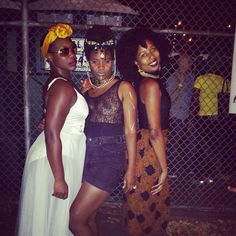 The punks were out! #Afropunk2014 #Afropunk #dablakmizfitz #girlrillavintage #theeamazinggrace