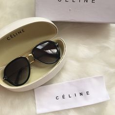 Celine drop sunglasses Authentic Celine drop sunglasses. Brand new condition. Come with case,box,cleaning cloth. Lower price on 〽️ercari Celine Accessories Glasses