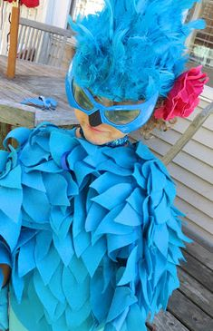 """This year me and Sofia had a little fun """"momstorm""""( brainstorming with mommy about her Halloween costume) and when we got to the final deci..."""