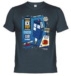 Camiseta Tardis Ice Pop