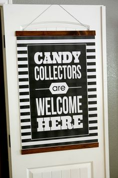 eighteen25: Candy Collectors Halloween Print