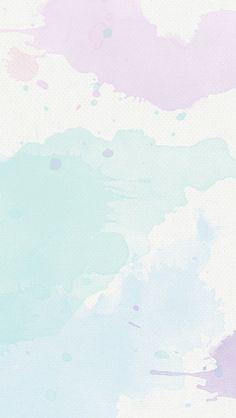 ラベンダーミント水彩画