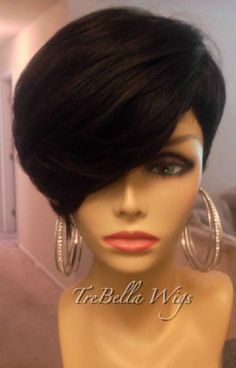 TreBella Full Wigs, i would rock this if i wore wigs!! Uber cute!