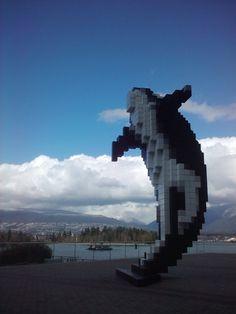 """""""Digital Orca"""", Douglas Coupland, Vancouver, Canada"""