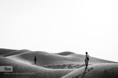 FOLLOW ME by nut4691  beautiful desert dune hot light natural nature sand shade shadow summer sun travel walk explore foot