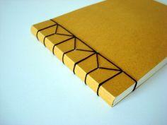 Figure eight binding from http://karen-littleblackbook.blogspot.com/2011/03/book-binding.html?m=1