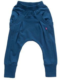 JJLKIDS Girls' Spring Harem Pants 3 Denim Blue