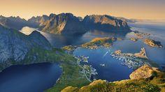 Kuzey ışıklarıyla ünlenen Lofoten Adaları