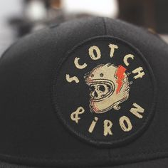 Custom Soft Baseball Cap Firefighter Chief Bugles Gray Embroidery Twill Cotton