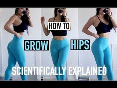 6 EXERCISES TO GROW YOUR HIPS | A Scientific Approach to Training Hips - YouTube