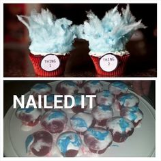 pinterest fail thing 1 and thing 2 cupcakes result