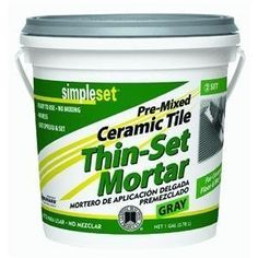 CUSTOM BLDG PRODUCTS CTTSG1-2 Thin Set Mortar