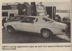 Holden Monaro Opera Coupe | Godawful show car from the mid 1970s