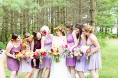 Wedding Photography, Wisconsin photographers, weddings, purple dresses, bridesmaids, Milwaukee wedding photographer