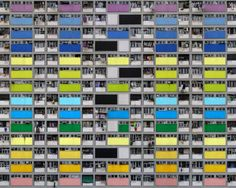 Architecture of Density, Michael Wolf, urban density, hong kong, art, photography, architecture photography