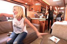 This week on Real Housewives of Orange County Tamra, Vicki, Heather, and Kelly…