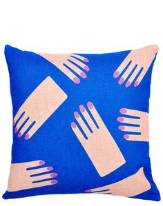 Leif Hands Pillow