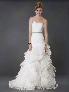 """Alyne """"Cecil"""" gown. Looking forward to our @Alyne Bridal Trunk Show this weekend in Orlando! Call to schedule your appointment. Visit www.solutionsbridal.com for more details."""