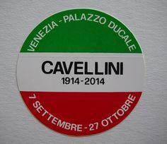 Guglielmo Achille Cavellini, Sticker, s.d.