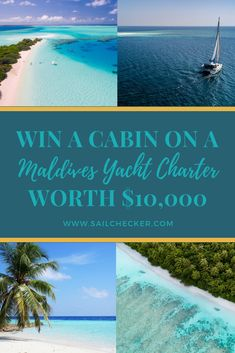 Win a Sailing Holiday in the Maldives for 2 with SailChecker and Blue Horizon Us Travel Destinations, Amazing Destinations, Places To Travel, Travel Goals, Travel Plan, Catamaran Charter, Sailing Holidays, Yacht Party, Sailing Adventures