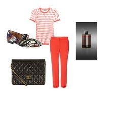 What to wear to beat Monday blues? #monochrome #style #orange