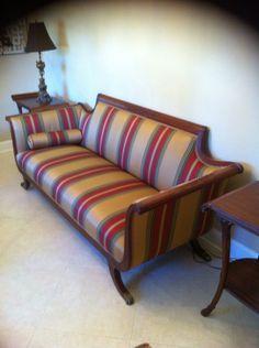 Duncan Phyfe Sofa Before